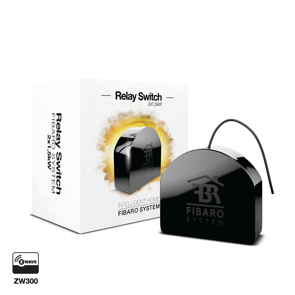 FIBARO Relay Switch 2x1,5kW